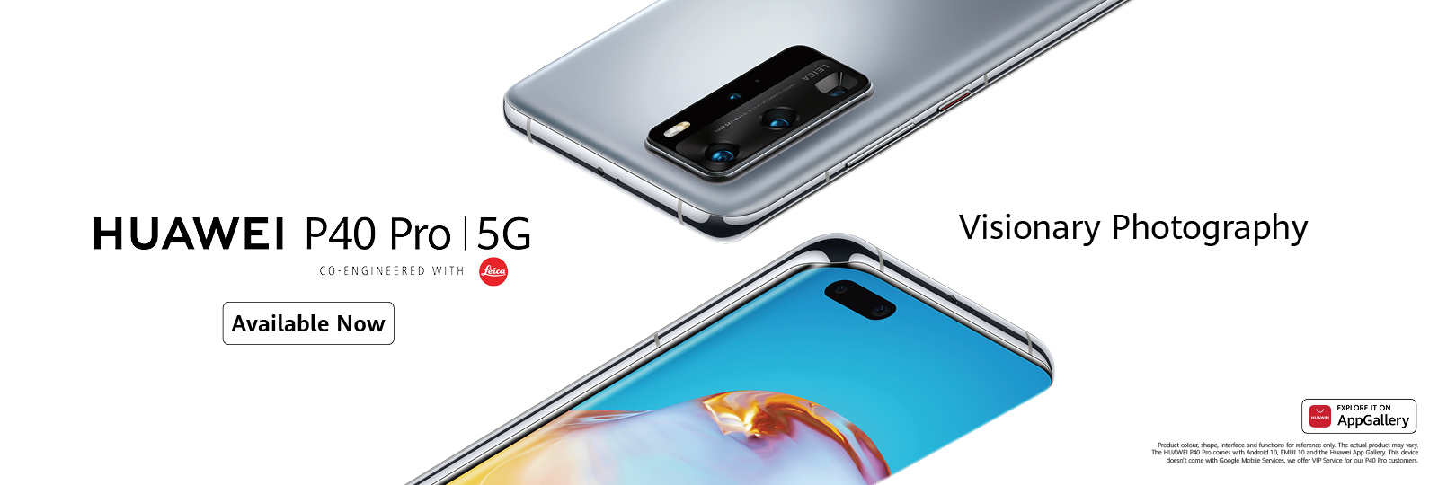 P40 Pro Available Now
