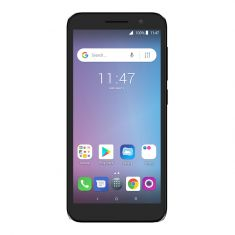Alcatel Essential Plus - Black Front