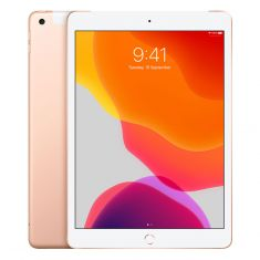 """[Open Box- As New] Apple iPad (2019, Gen 7) 10.2"""" Cellular 128GB - Gold front"""