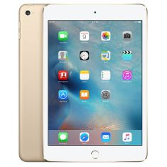 Apple iPad Mini 4 WiFi Cellular 16GB - Gold Front