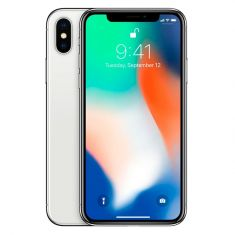 Apple iPhone X 64GB - Silver Front