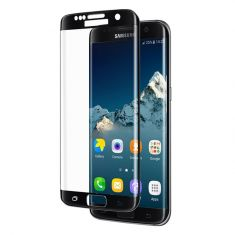 Cleanskin Tempered Glass Screen Guard for Samsung S7 Edge - Onyx