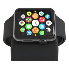 ElevationLab Night Stand for Apple Watch - Black Front