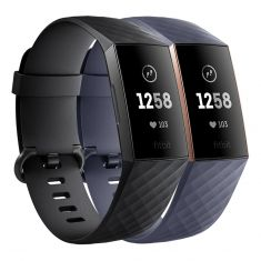 Fitbit Charge 3 Advanced Health and Fitness Tracker front