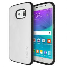 Incipio Octane Co-Molded Impact Absorbing Case For Galaxy S6 edge - Frost Black Front/back
