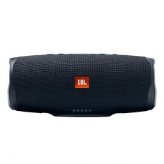 JBL Charge 4 Portable Bluetooth Speaker With Power Bank - Black =- front