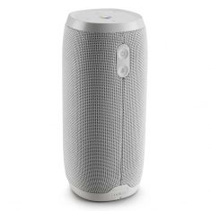 JBL Link 20 Voice Activated Waterproof Wireless Portable Speaker White Front