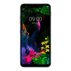 LG G8s ThinQ - Mirror Teal Front