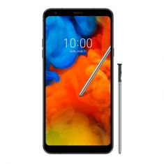 "LG Q Stylus (6.2"", 32GB/3GB, IP68) - Black - Front"
