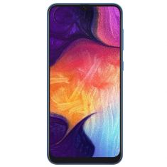 "Samsung Galaxy A50 (6.4"", 25MP) - Blue Front"