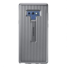 Samsung Galaxy Note 9 Protective Standing Cover - Silver Back