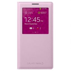 Samsung Galaxy Note 3 S-View Cover Pink Front