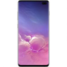 "Samsung Galaxy S10+ Plus (6.4"", 128GB/8GB) - Prism Black - Front"