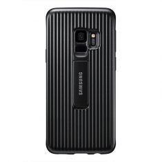 Samsung Galaxy S9 Protective Standing Cover - Black - Back