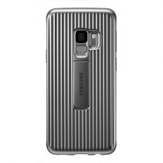 Samsung Galaxy S9 Protective Standing Cover - Grey - Back