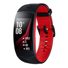 Samsung Gear Fit2 Pro Large - Red/Black Front