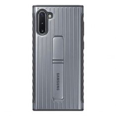 Samsung Galaxy Note 10 Protective Standing Cover - Silver