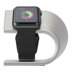 3SIXT Helix Apple Watch Stand 3S-1188 - Silver-sample