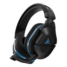 Turtle Beach Stealth 600 Gen2 Wireless Surround Sound Gaming Headset For PS4 - Black -front side