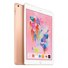 """[Open Box - As New] Apple iPad 2018 A1954 9.7"""" Cellular 128GB - Gold all"""