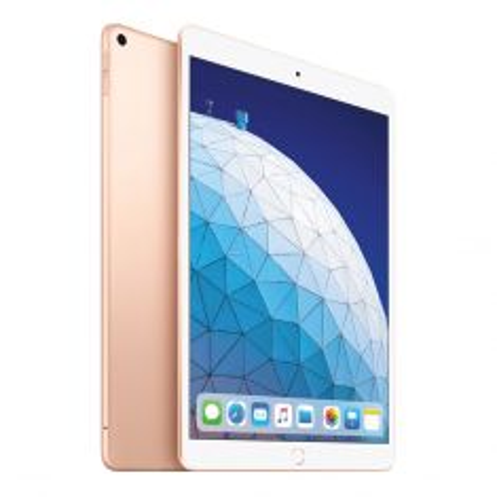 "Apple iPad Air (2019, Gen 3) 10.5"" WiFi + Cellular 256GB - Gold Main"