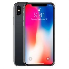 Apple iPhone X 64GB - Space Grey Front