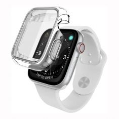 X-Doria Defense 360x Protective Case for 40mm Apple Watch Series 4 and 5 - Clear - Main