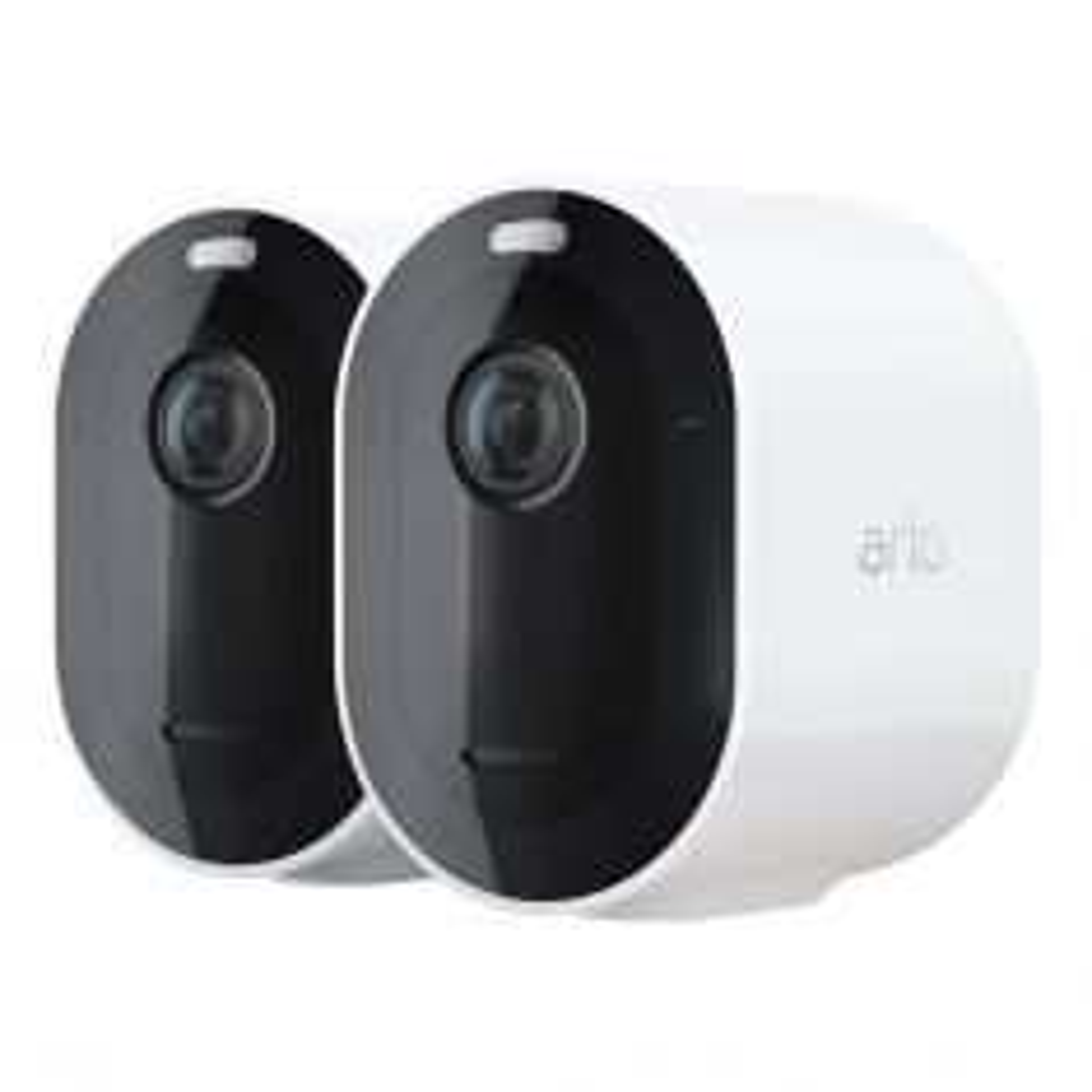 Arlo Pro 4 Wire Free 2K HDR Spotlight Camera 2 Pack VMS4250P-100AUS-camera combo