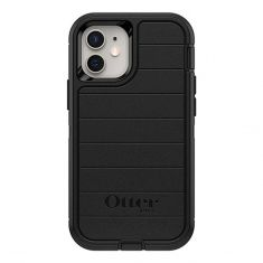 OtterBox Defender Pro Case for iPhone 12 mini - Black-back