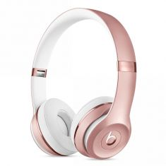 Beats Solo3 Wireless On-Ear Headphones - Rose Gold Front