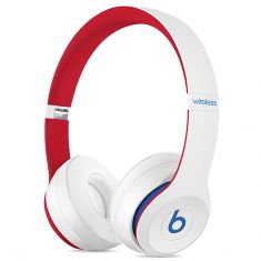 Beats Solo3 Wireless On-Ear Headphones Club Collection - White -main