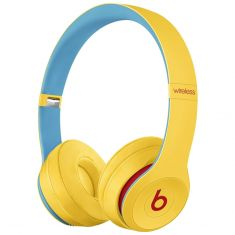 Beats Solo3 Wireless On-Ear Headphones Club Collection - Yellow-main