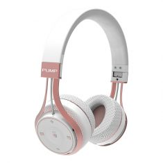 Blueant Pump Soul Bluetooth Wireless on Ear Stereo Headset - White Rose Gold - Profile