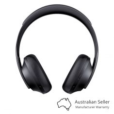 Bose Noise Cancelling Wireless Over-Ear Headphones NC 700 - Black Front