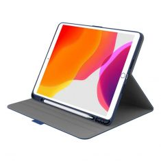 "Cygnett Tekview Slimline Case w/ Apple Pencil Holder for iPad 10.2"" Navy Front"