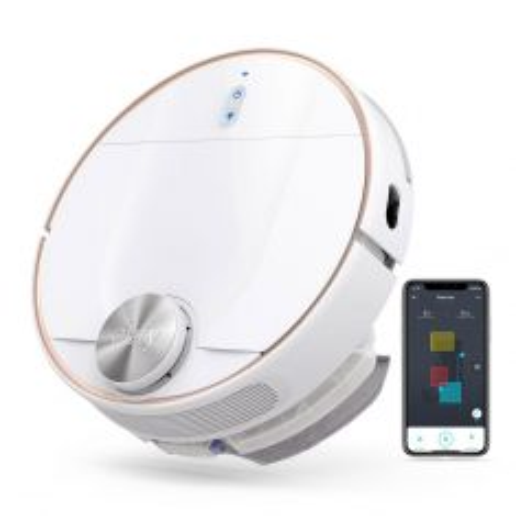 Eufy RoboVac L70 WiFi 2200Pa Hybrid Robot Vacuum and Mop T2190T21 - White