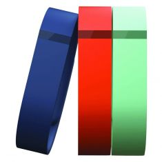 Fitbit Flex Wrist Band Small FB401BTNTS - Navy, Teal and Tangerine -main