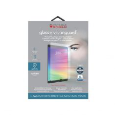 """Zagg Glass+ Visionguard for iPad 9.7"""" (2017-2018) - Package"""