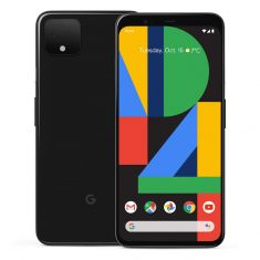 [Open Box - As New] Google Pixel 4 (16MP, 128GB/6GB) - Just Black front