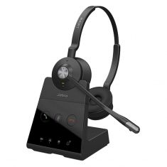 Jabra Engage 65 Stereo Wireless DECT On-Ear Headset - Black -main