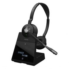 Jabra Engage 75 Stereo Bluetooth DECT Headset - Black -main