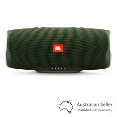 JBL Charge 4 Portable Bluetooth Speaker With Power Bank - Green Front