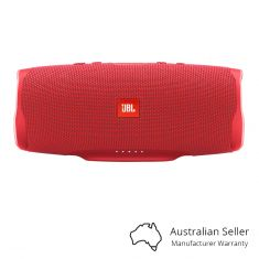 JBL Charge 4 Portable Bluetooth Speaker With Power Bank - Red Front
