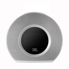JBL Horizon Bluetooth Clock Radio with USB Charging and Ambient Light - White - Front