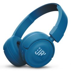 JBL T450BT Wireless On-Ear Headphones - Blue front
