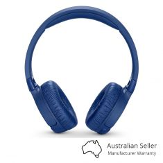 JBL Tune 600BTNC Wireless Noise-cancelling Headphones - Blue Front