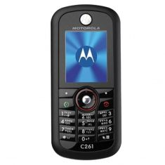 [Brand New Sealed in box, Vintage Stock, 2G only] Motorola C261 MP3 Boost Bundle - Black -main