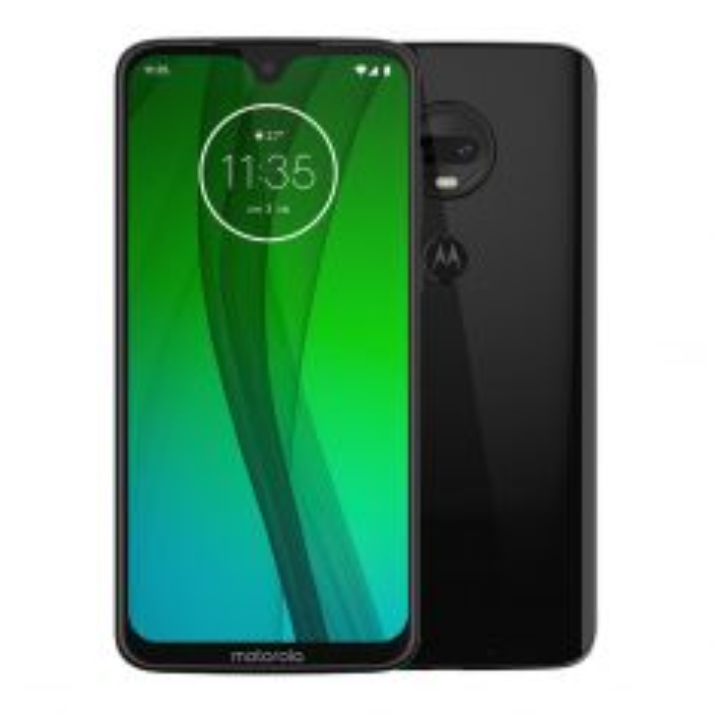"Motorola Moto G7 (Dual Sim 4G/3G, 6.2"", 64GB/4GB) - Black-main"