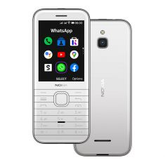 Nokia 8000 (2021, 2.8'', 4GB/512MB, Keypad) - White-main