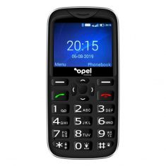 Opel Mobile BigButton X 4G/LTE Keypad Black front